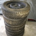 5 WINTER TIRES FOR SALE